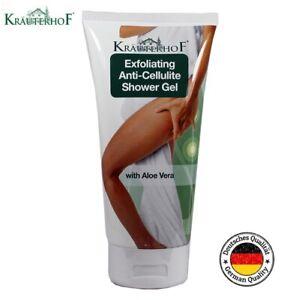Krauterhof Exfoliating Anti-CELLULITE Shower Gel 200ml with Aloe Vera