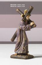 Gesù porta croce 18,5 cm Presepe Pasquale in resina by Paben
