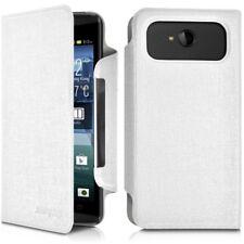 Housse Etui à Rabat Universel L Couleur Blanc pour Acer Liquid E700