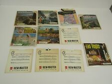 Vintage 1973 GAF Sawyers View-Master lot TUSCON GRAND CANYON LAS VEGAS + More