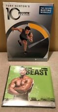 BODY BEAST & 10 MINUTE TRAINER WORKOUT FIT EXERCISE TRAINING CHRISTMAS PRESENT
