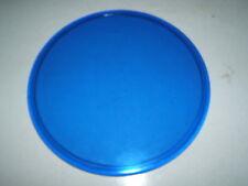 """Vintage Blue 6 1/4"""" Railroad RR Lantern Marker Signal Lens Caboose 27"""