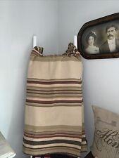 Ralph Lauren King cotton Serape stripe blanket