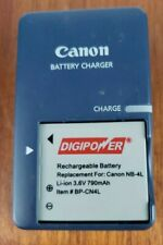 Canon battery charger CB-2LV G for Canon Power Shot and Battery