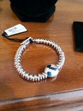 new Badel Nugget ITALY 925 silver bracelet Women Men