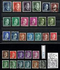 (E3801) DR Nr.781-802 o Dauerserie A. H. mit zusätzlcihen Farbvarianten