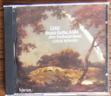 FRANZ LISZT Bunte Reihe CD (1992) Leslie Howard Complete Solo Piano Volume 16