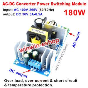 AC-DC AC 110V 220V 230V to DC 36V 5A Converter 180W Switching Power Supply Board