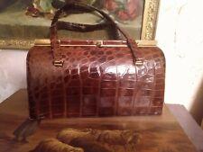 genuine crocodile alligator leather bag