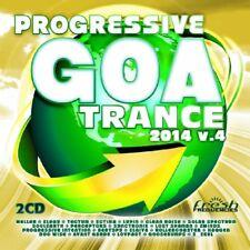 PROGRESSIVE GOA TRANCE 2014 VOL.4 ( 2Minds, Perceptors, Soulearth ) 2 CD NEUF