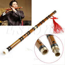 Traditional Handmade Chinese Musical Instrument Dizi Bamboo Flute in F Key
