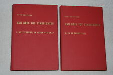 Van Brik Tot Starfighter Volume 1 & 2 by Hugo Hooftman (1962, Hardcovers)