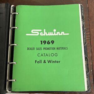 SCHWINN Bicycle Company 1969 Original Dealer Bicycle Catalog*Vintage Memorabilia