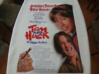 TOM AND HUCK 27x40  Double Sided Backlit Movie THeater Poster RARE VINTAGE 1995