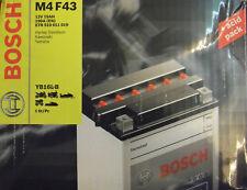 Bosch M4 F43 Motorradbatterie Batterie 19AH  Kawasaki GPZ GTR Z KZ   YB16L-B