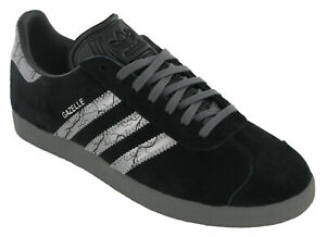Adidas Mens Gazelle Darksaber Star Wars Limited Edition 3 Stripe Trainers GZ2753