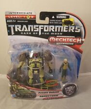 Transformers Dark of the Moon Human Private Dedcliff Sandstorm Mechtech Alliance