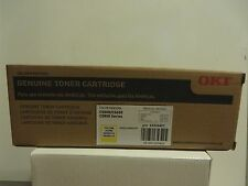 OKI C5500/C5650, C5800 Series Yellow  Toner  Cartridge