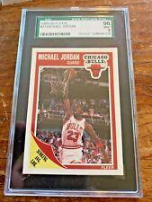 1989-90 Fleer Michael Jordan #21 SGC 96 Mint 9 Centered, Sharp and Bright White