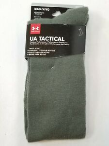 Under Armour Mens UA Tactical Boot Socks Foliage Green Medium 34480PG-314