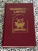 Washington Lawyer by Edward Howrey SIGNED 1st Edition Eisenhower FTC Law Firm HC