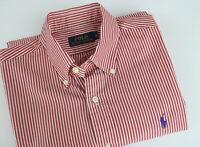 POLO RALPH LAUREN BLUE LABEL Men S Thin Striped Button Down Casual Shirt 25502_S