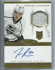 2013-14 PANINI DOMINION RC GOLD PARALLEL PATCH AUTO TANNER PEARSON 10/50 KINGS