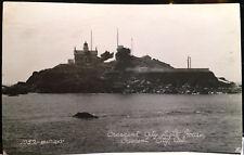 Light House, CRESCENT CITY, CALIFORNIA, Photo Post Card Del Norte County 1947