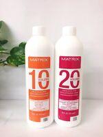 Matrix SoColor Cream Developer 16oz 10V or 20V/ Choose your option