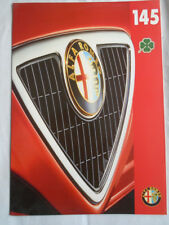 Alfa Romeo 145 Cloverleaf brochure Nov 1995
