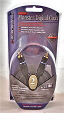 Monster Cable Digital Audio Monster Digital Coax 2m/6.6ft SDC-2m 125904 Coaxial