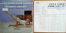 DEBBIE DRAKE - FEEL GOOD LOOK GREAT - EPIC LP WITH BOOKLET - IN SHRINK WRAP
