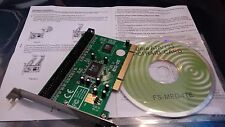 ITE 8212-512 ULTRA ATA 133 PCI  RAID Card FS-MEG-ITE IT8212F inc. DISC GUIDE