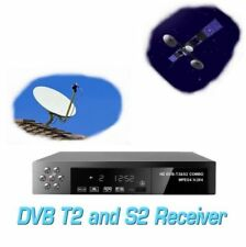 DECODER COMBO DIGITALE TERRESTRE E SATELLITARE DVB-T2/S2 FULL HD WI-FI