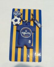 TIGER BEER Key Chain FC JERSEY Keychain Blue TRAINING SHIRT Malaysia 2010 Rubber