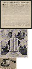 Marage VIRAG Pollak Telegraph acustica Microfono Elettronica Telecomunicazioni telefono 1916