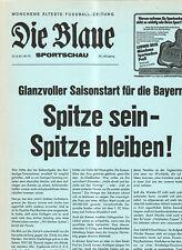 BL 81/82  FC Bayern München - SV Werder Bremen (Blaue)