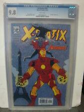 X-STATIX #24 cgc 9.8 Vs. THE AVENGERS Cap Iron Man Thor
