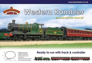 Bachmann 30-052 Western Rambler OO gauge Trainset BNIB