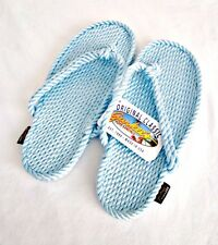 Gurkees Rope Sandals - Tobago SKY BLUE Womens 9 Gurkee