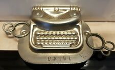 TYPE MACHINE WRITER JKV J.K.V. TILBURG DUTCH CHOCOLATE MOLD VTG ANTIQUE N°16148