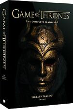 Game of Thrones Season 1-5 DVD BOXSET Region 2 5051892198035