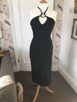 Karen Millen Vintage Black Dress Size 10