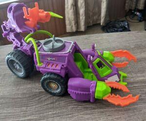 2014 Mattel DC Comics Imaginext Joker Scorpion Mobile Toy Car Spinning Claws