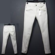 PER UNA Sculpt & Lift ROMA Rise SKINNY Leg JEANS ~ Size 16 Long ~ OFF WHITE