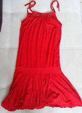 robe rouge 8 ans