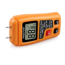 0 999 Digital Lcd Wood Firewood Paper Moisture Humidity Tester Damp Detector