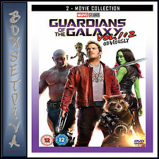 GUARDIANS OF THE GALAXY 1 & 2 - 2 MOVIE COLLECTION  *BRAND NEW DVD***