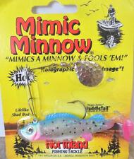 Northland Mimic Minnow Spinnerbait 3/8oz - Glo Rainbow, Bass Redfin Perch Lure