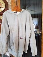 Extra Large Dickies Grey Full Zip Sweatshirt Capitalize Read Description